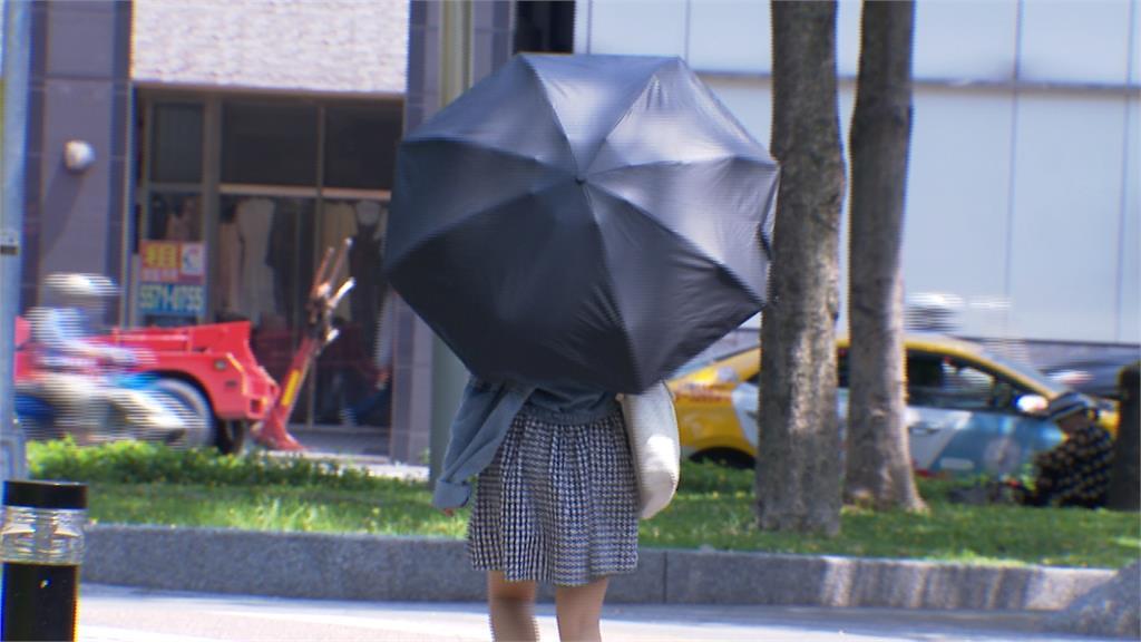 中午飆上37.8度!台北創今夏最高溫