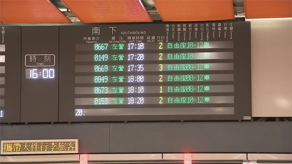 防疫範圍擴大!台鐵17站禁席地而坐、高鐵清明假無自由座