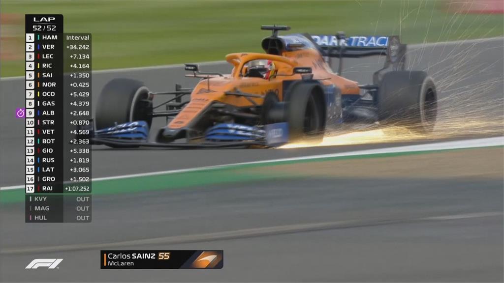 離車神只剩4步!漢米爾頓F1英國賽封王 生涯87冠緊追舒馬克