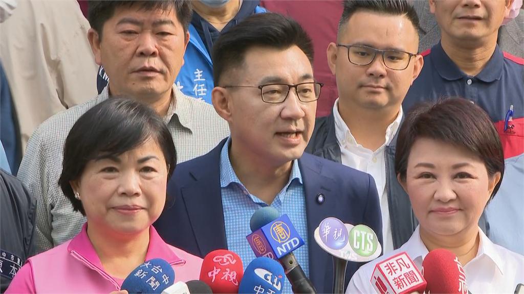 快新聞/國民黨主席補選啟動  江啟臣:改革創新與留在過去間的選擇