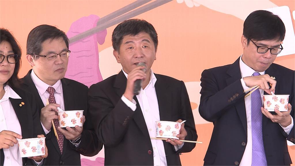 立法院「吃好牛來台南」活動 陳時中吃好吃滿