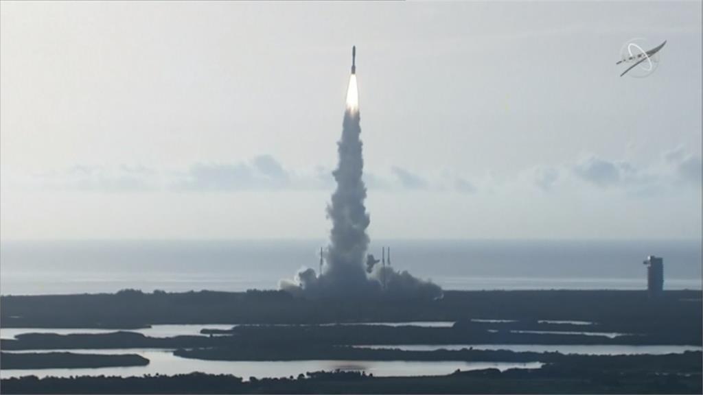 探尋火星上古生命跡象 NASA發射「擎天神5號」火箭