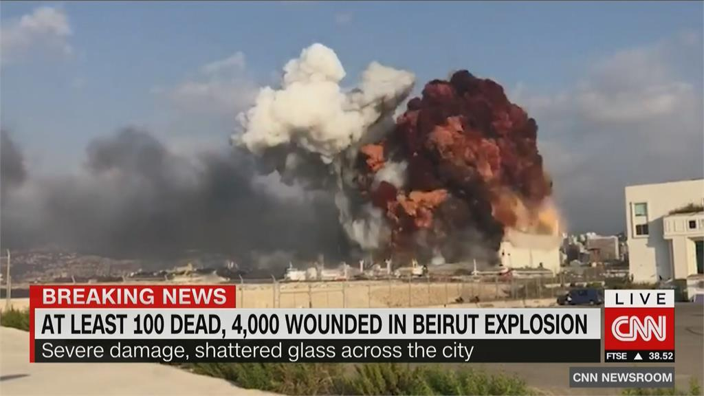 快新聞/專家調查黎巴嫩大爆炸 疑似是爆竹點燃硝酸銨