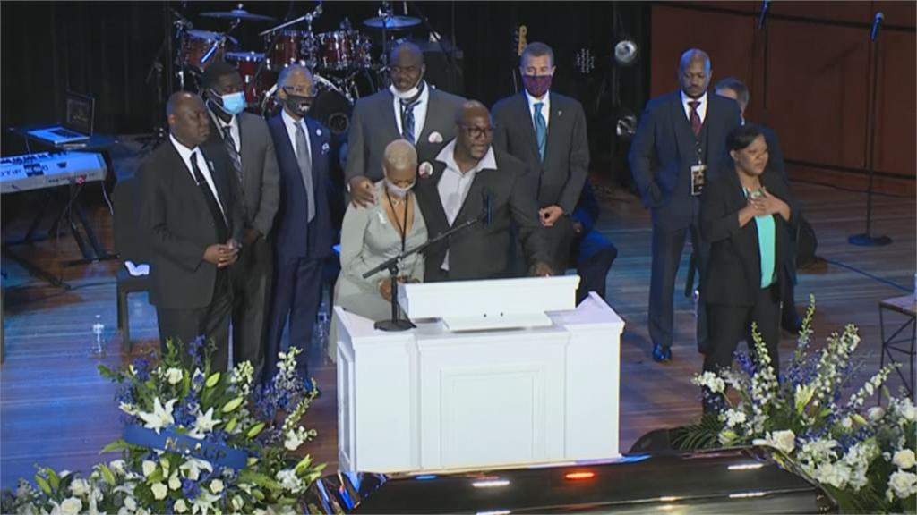 非裔男之死!佛洛伊德追思會 家屬呼籲正視種族歧視問題
