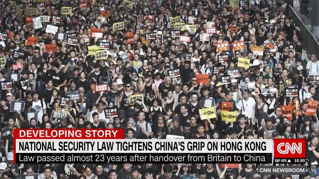 川普簽署香港自治法案 終止香港優惠待遇