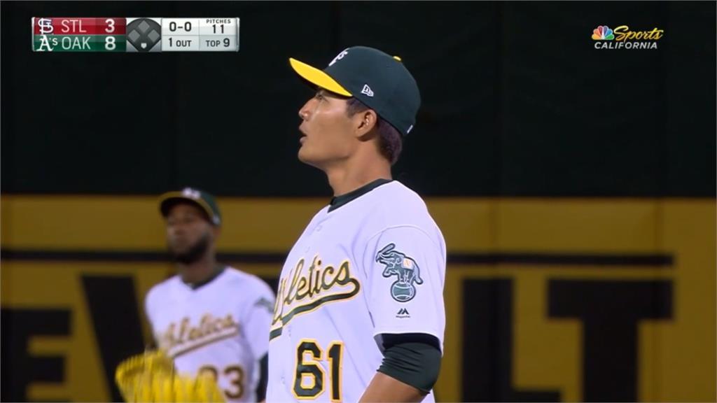 MLB/王維中九局登板挨陽春砲 即時回穩結束比賽