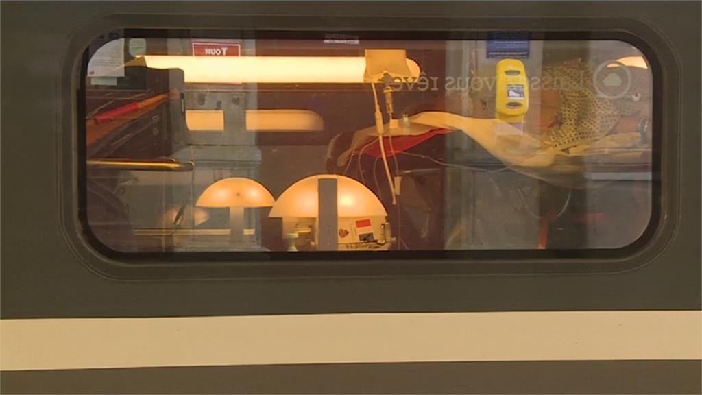 法國防疫高鐵列車出動!專載武漢肺炎患者就醫