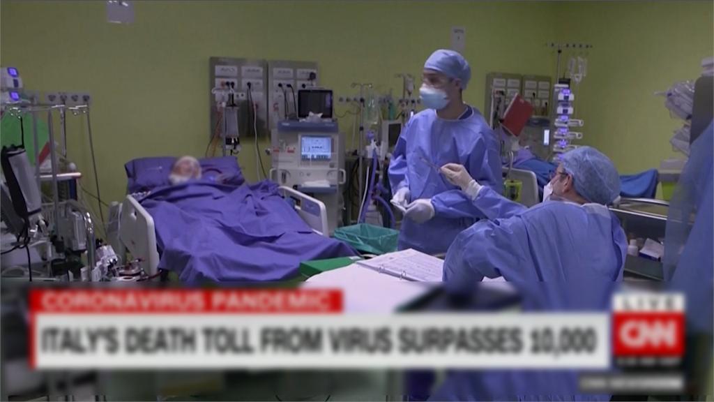 快新聞/連5天新增確診數少於4700多例 義大利疫情可能漸穩定