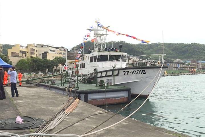 守護東北角海域18年 PP-10018巡防艇今除役