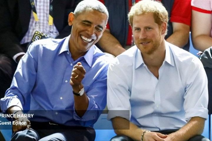 哈利王子客串主持訪歐巴馬 快問快答笑料百出