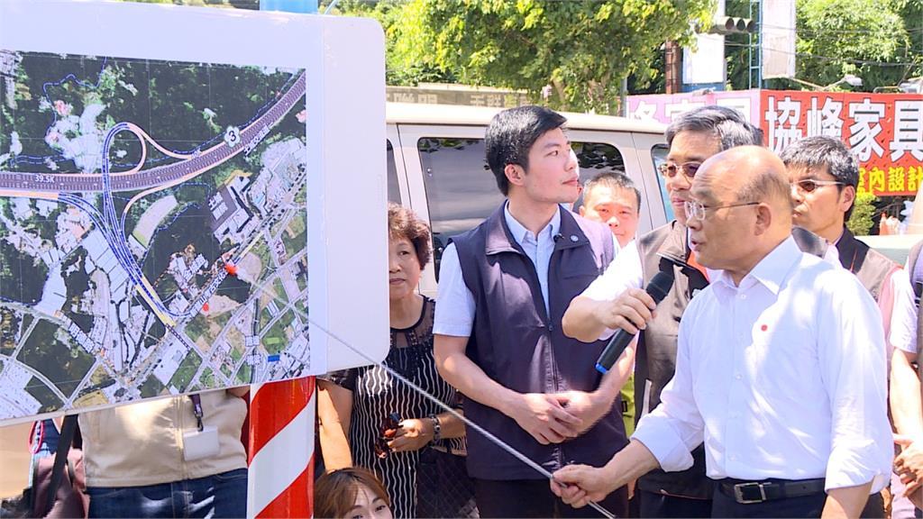 蘇貞昌視察國3 宣布砸30億增設北土城交流道