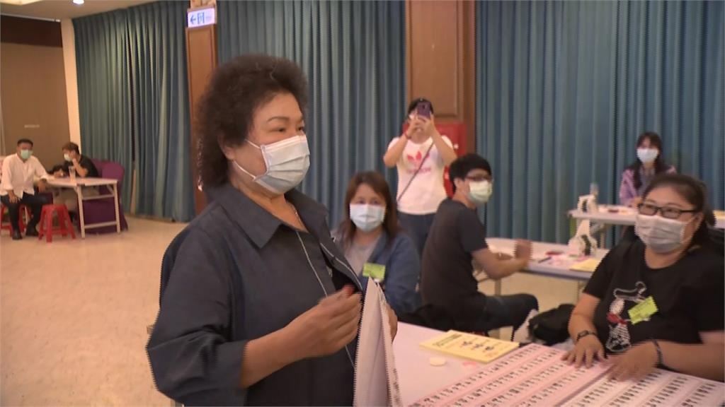 趙天麟、高閔琳競選高雄主委 陳菊投票籲:黨內競爭不要失去和諧