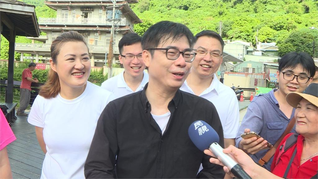 民進黨展團結!陳其邁首波競選團隊名單被視為整合派系