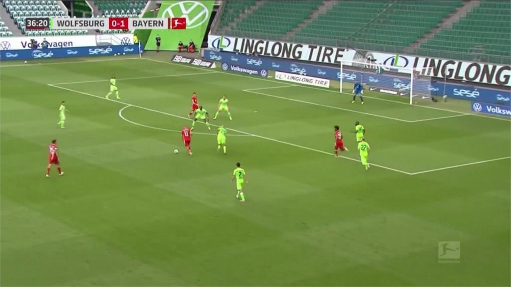 足球/拜仁慕尼黑聯賽8連霸 整季攻進100球