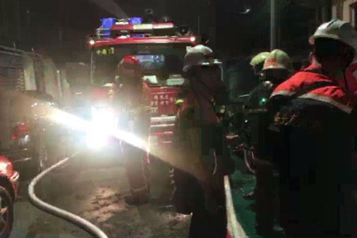 影》東區大樓發生火警 1人已被救出