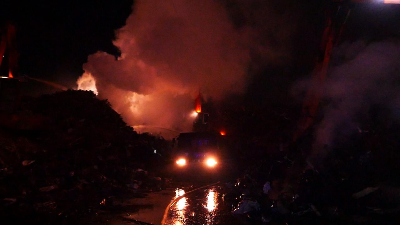 豐興鋼鐵廢鐵堆置場火警 遭罰100萬