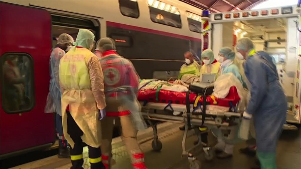 法國防疫高鐵列車! 專載確診病患就醫