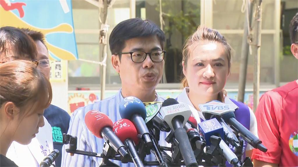 快新聞/韓國瑜曾誇口設置賽馬場 陳其邁:政見要有可行性