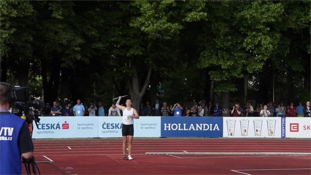 捷克田徑賽登場 奧運女標槍金牌大顯身手
