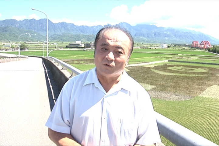 花蓮玉里鎮慶百歲 稻田驚見台灣黑熊?