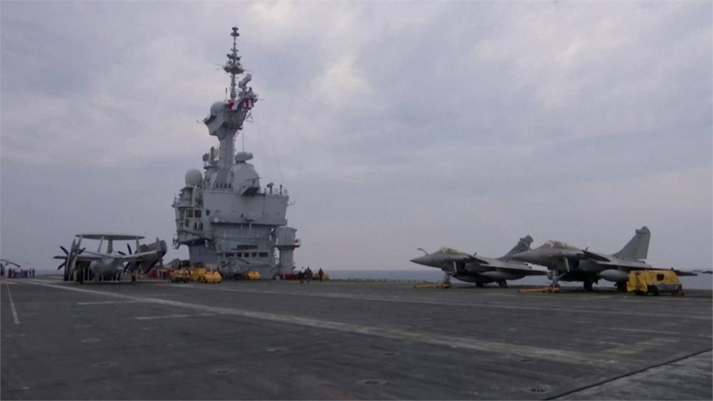 法國唯一核動力航母「戴高樂」 驚傳40人出現武肺症狀