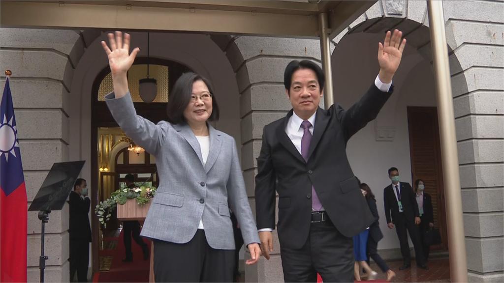 快新聞/「當一個台灣人可以很光榮!」蔡英文第二任就職典禮 精彩片刻大回顧