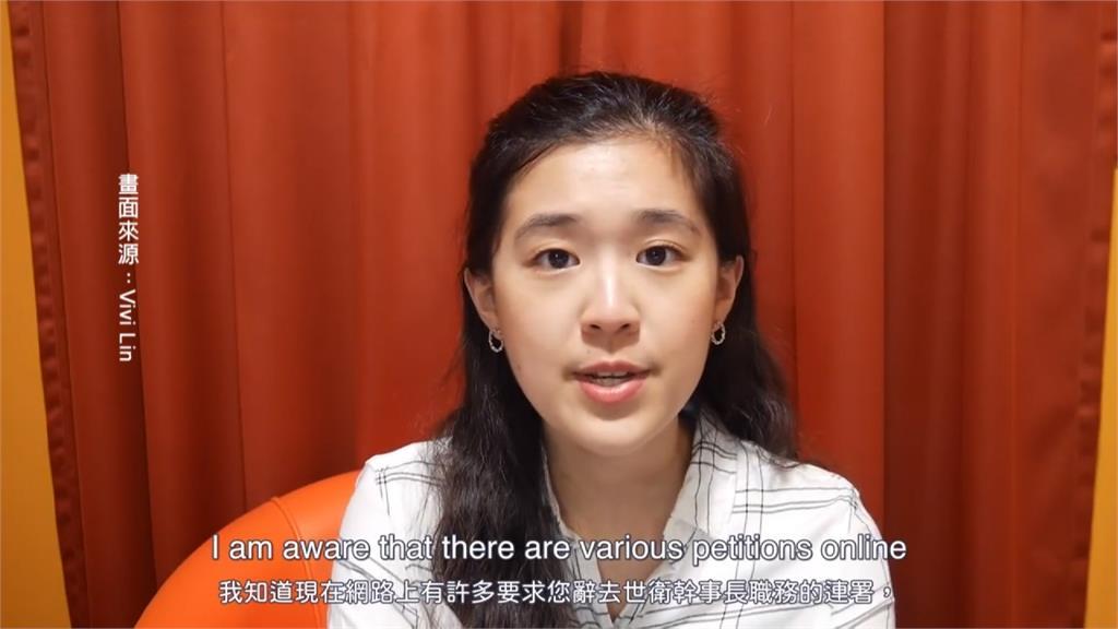 譚德塞轟台灣「網路攻擊」英國留學生拍片為國發聲
