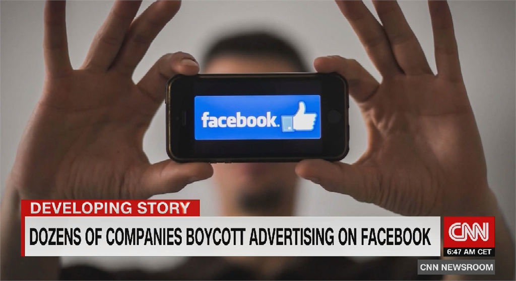 籲臉書阻止仇恨言論傳播協商失敗 逾400品牌撤廣告