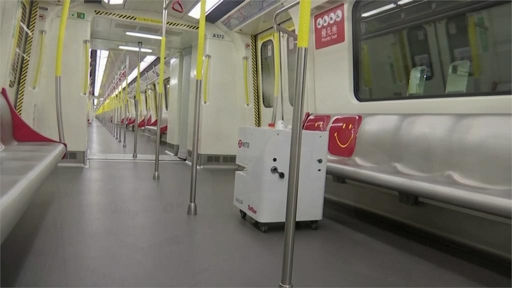 徹底清潔車廂細小縫隙 港鐵引進20台「防疫機器人」