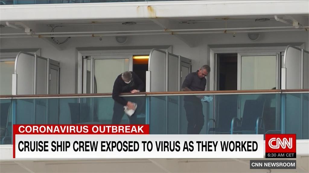 鑽石公主號防疫失敗 日本傳染病專家坦承:船員沒隔離