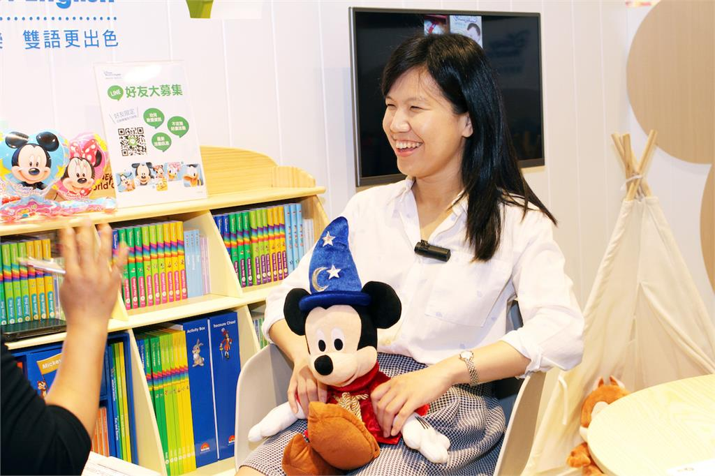 靠迪士尼玩出順溜美語 高雄妹玩出強大職場競爭力
