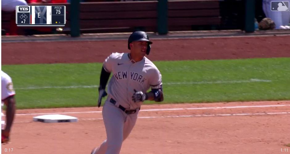 MLB/托瑞斯3安打2打點 助洋基3:2逆轉勝國民