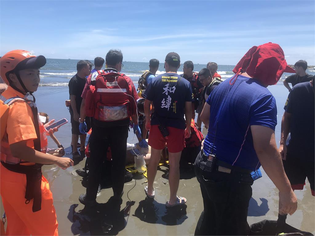 快新聞/台南漁光島2泳客溺水 1人無呼吸心跳送醫搶救