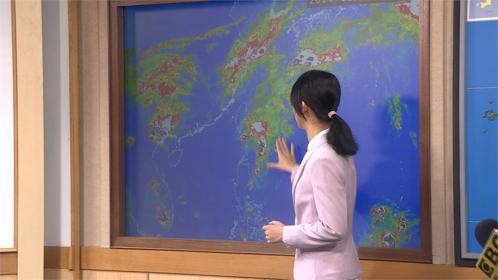 梅雨鋒面即將報到 周二起連5天防豪雨