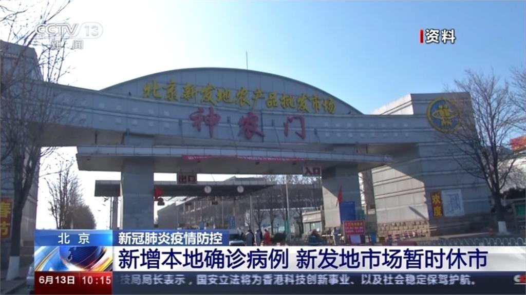武漢肺炎/中國北京連3日新增9本土病例!6大市場緊急休市