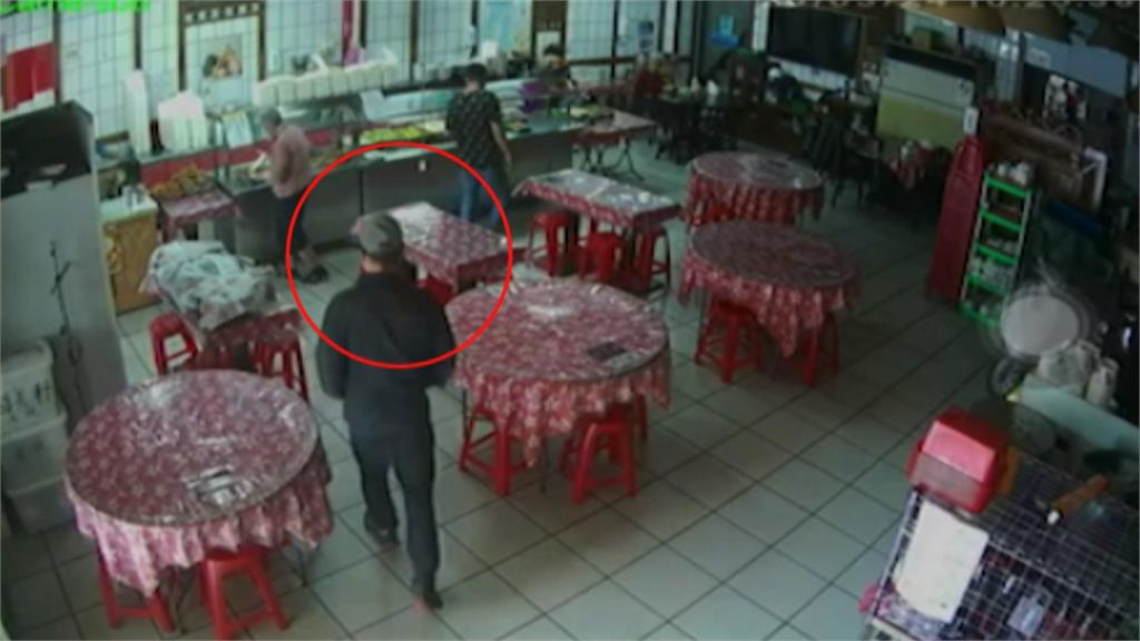 新竹連環竊盜案 趁店家不注意順手牽羊