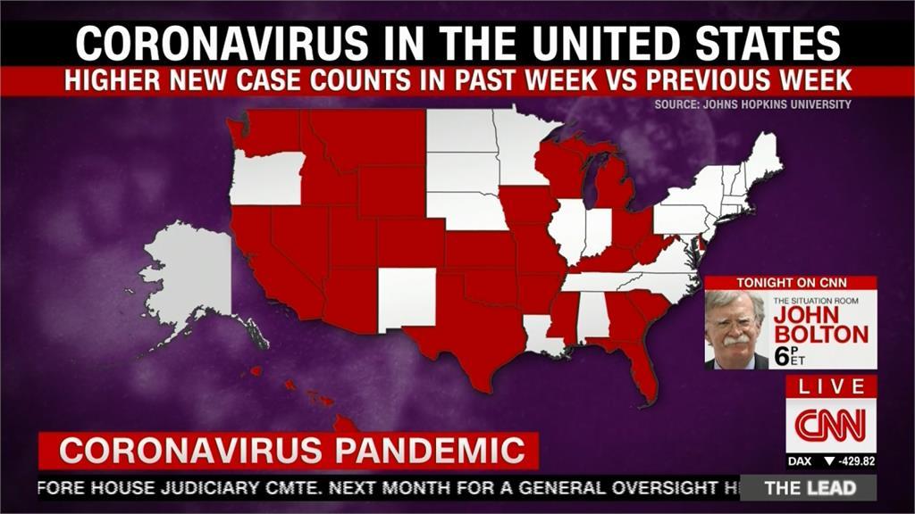 美國各州疫情升溫!紐約、新澤西、康乃狄克宣布「反隔離」