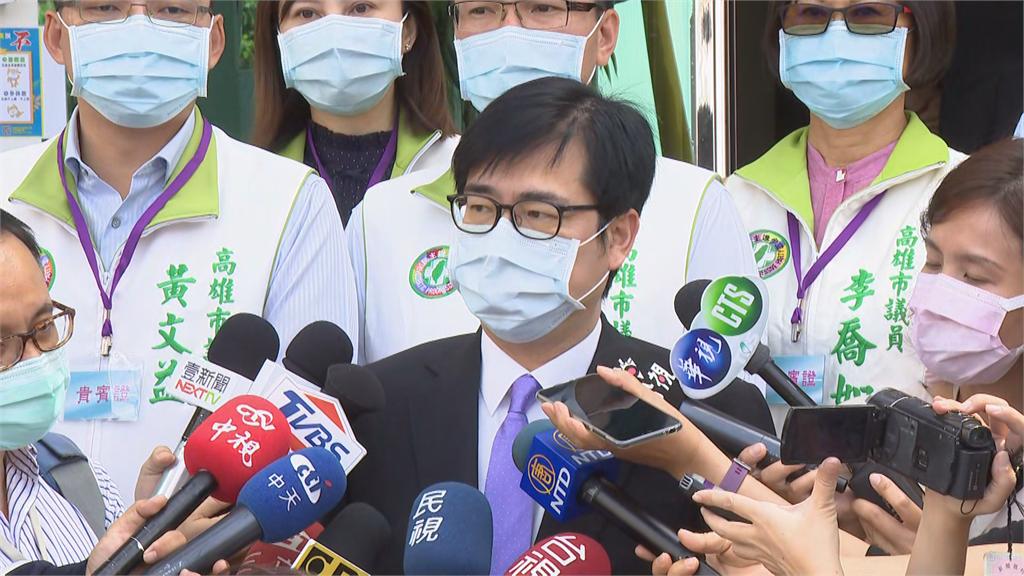 快新聞/接高雄市長呼聲高? 陳其邁:目前防疫是最重要工作!