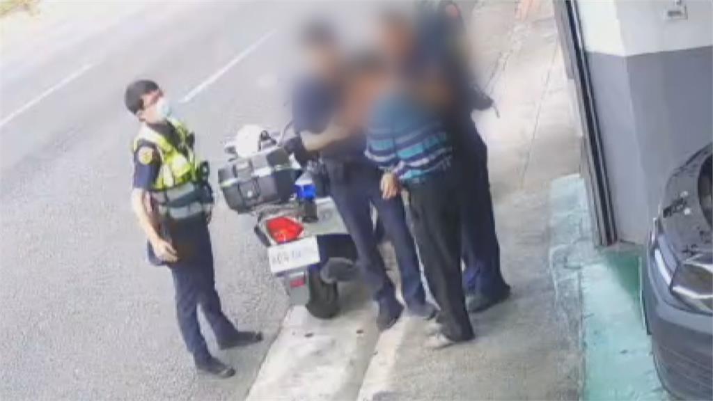 驚!酒駕男子竟是確診者同居人 接觸警自主管理、足跡大消毒