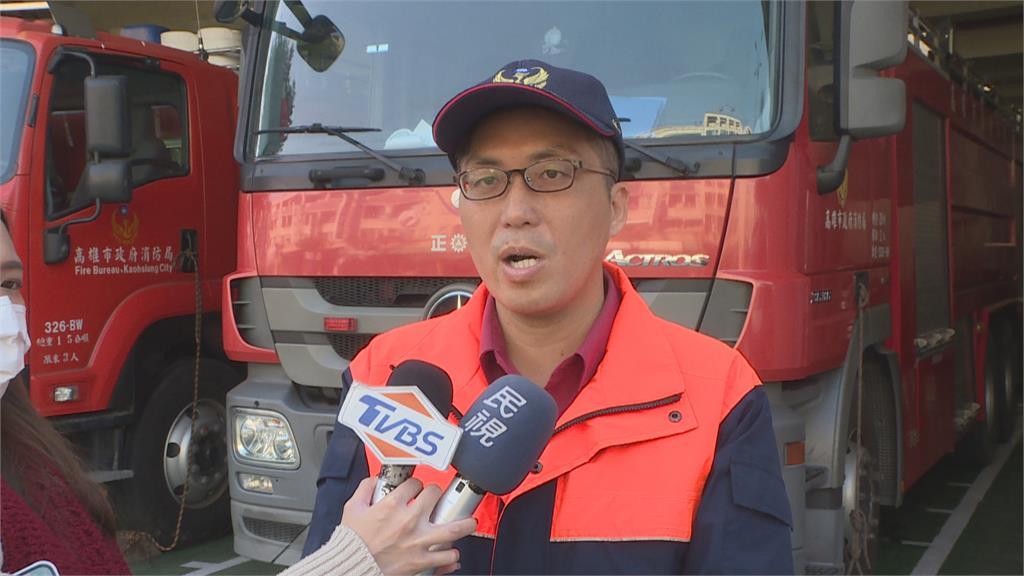 「遠離起火點 阻隔濃煙入侵」 鳳山惡火釀三死  消防隊員宣導避難準則