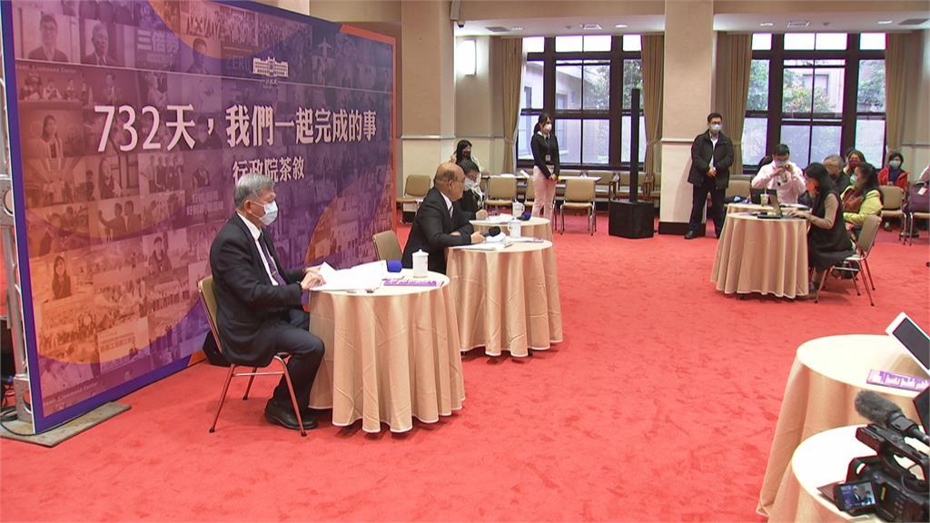 上任滿兩週年 蘇貞昌駁內閣改組總統:支持蘇揆續衝 努力讓國家向前