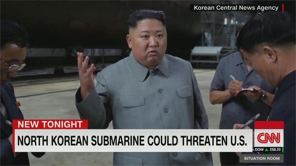 美朝軍事競賽? 北朝鮮3000噸級潛艦完工