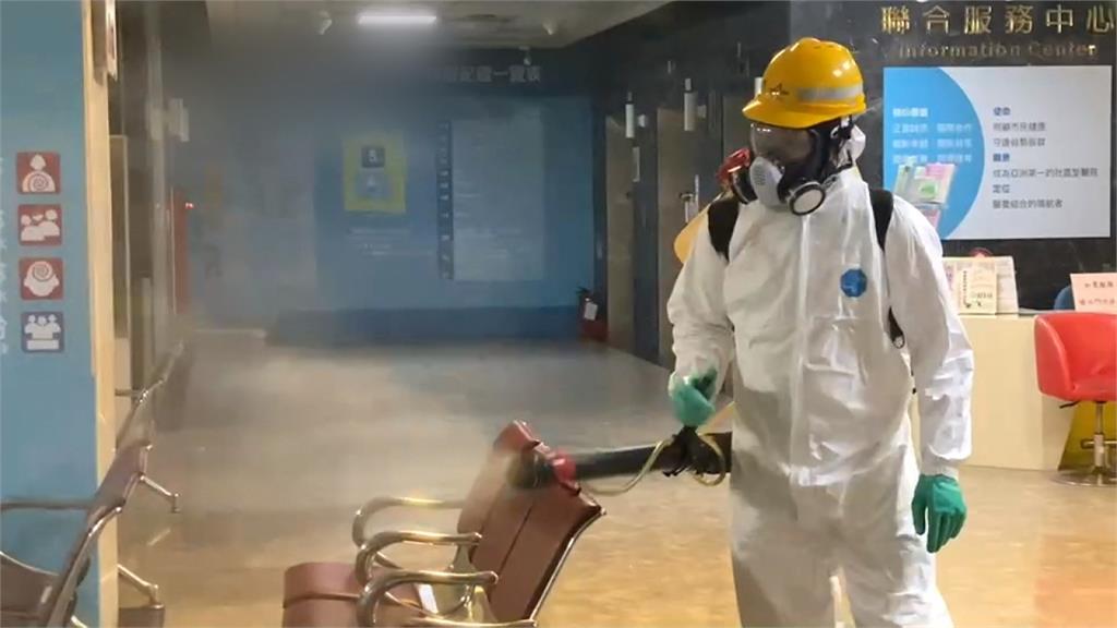 北市和平醫院 2住院病患確診染疫