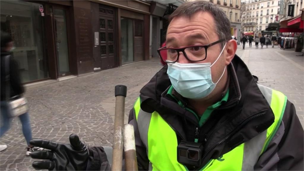 清潔員「縮時打掃」爆紅 帶動巴黎環保意識