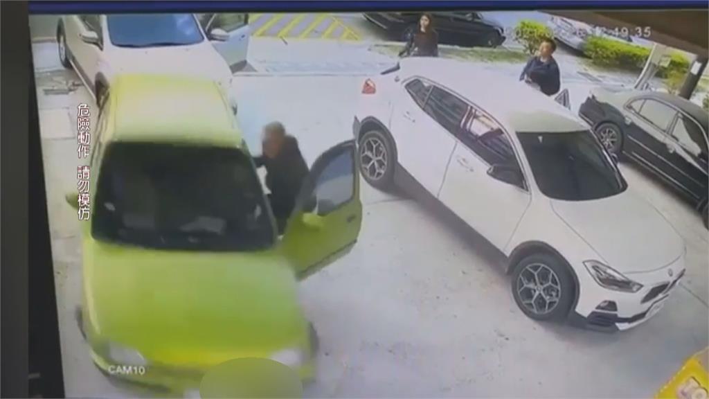 警搏命抓偷車竊嫌!賊亡命撞出脫逃路