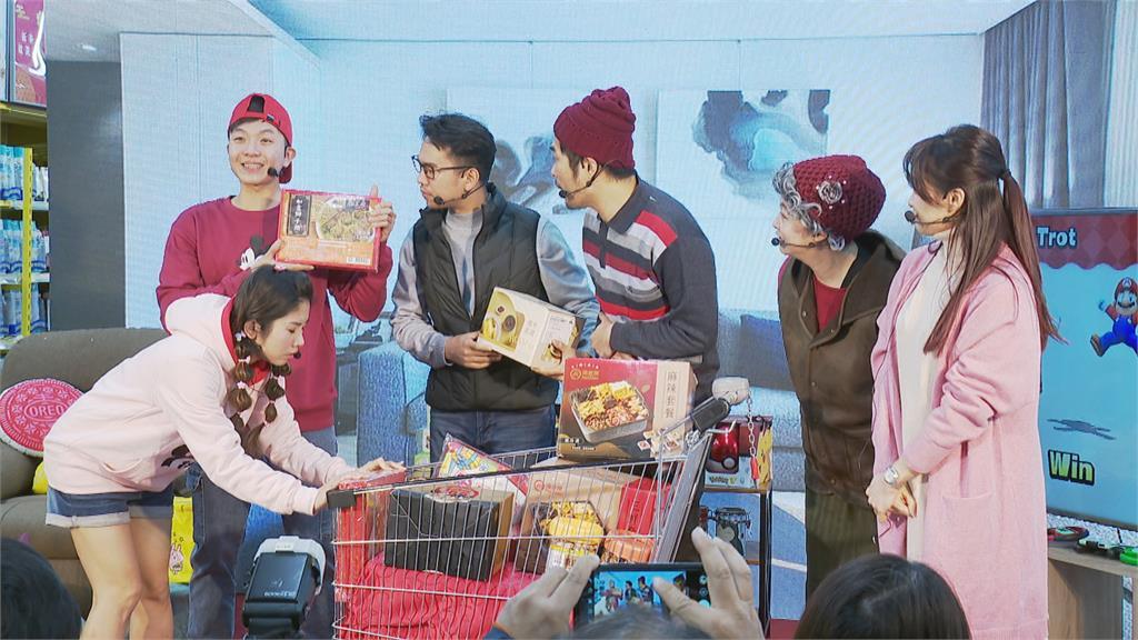 農曆新年將至 賣場業者推名菜搶年菜商機