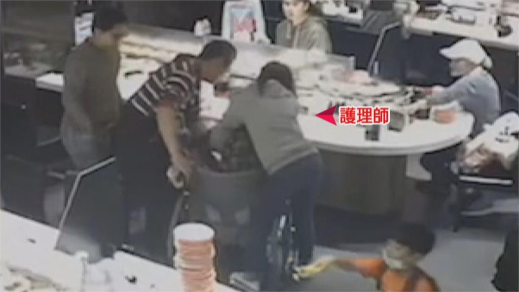 吃壽司噎到9旬嬤瀕死險!休假女護理師CPR搶回一命