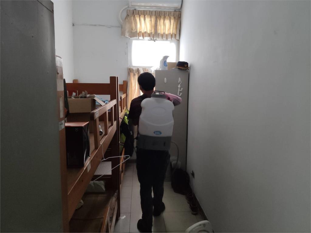 新北蘆洲成州派出所員警確診 全派出所29人隔離、進行大消毒!