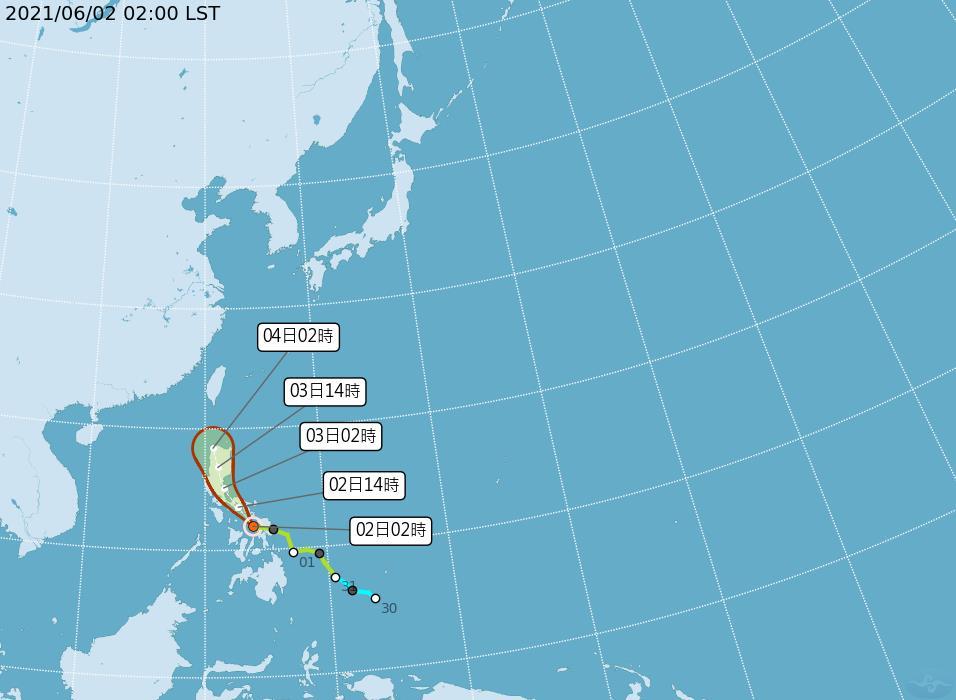 快新聞/陽光露臉!連續三天好天氣 氣象局:「彩雲」颱風強度漸減弱