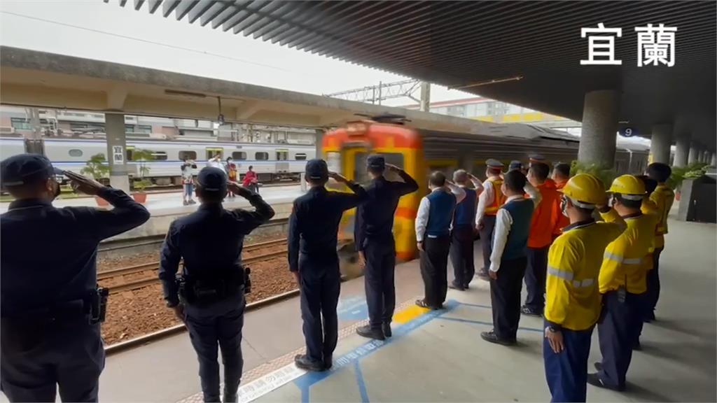 太魯閣號出軌/「任務結束!」台鐵製作影片悼念太魯閣號司機員 全線120列車今早9:28鳴笛